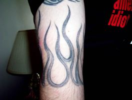 Flames Tattoo by x-lunchbox-x