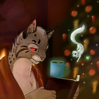 Of Hot Cocoa and Books by Jasiri-lioness