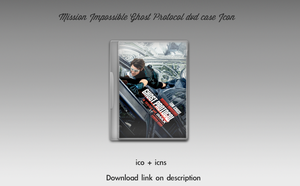 Mission Impossible Ghost Protocol DVD Case Icon by theminimalisto