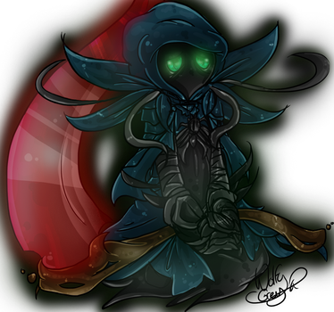 Guild Wars 2 - Commission The Little Shadow by WolfyGrey