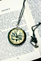 Its always Teatime - necklace by sixAstray