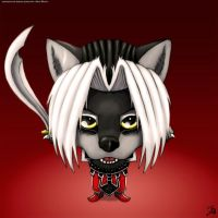 White Wolf Redgrave Chibi by WWRedGrave