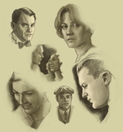 Boardwalk Empire Sketch Dump by AgarthanGuide
