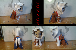 Custom Connor My Little Pony Final Product by hitmusicwithtandc