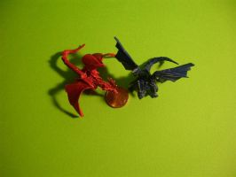 Tiny Dragons-Kamiya by origami-artist-galen