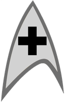New Star Trek Medical Logo by viperaviator