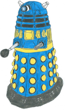 Strategist Dalek by RandomoTheRandom