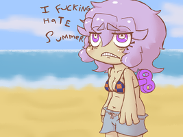 she hates it by Pedonymous