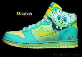 Spongebob Dunks by toine27