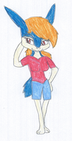 Tami the Typhlosion 2 by KendraTheShinyEevee