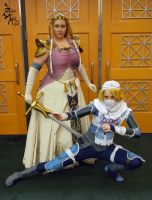 Zelda and Sheik by VFire