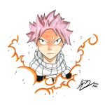 Natsu Dragneel [COPIC portrait] by Ruuku-Kabe