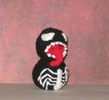 Venom Amigurumi Doll by Craftigurumi