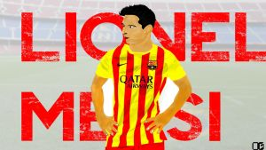 Lionel Messi Vector! by LifalixDesign
