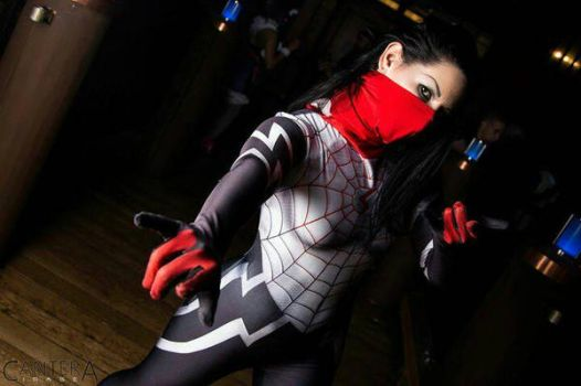 spiderverse silk cosplay by echo endless by ECHOENDLESS
