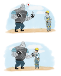 Poor Robot Heavy by DylanBacon-power
