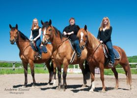 Family Photos on Horseback by AEisnor
