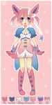 Sylveon Gijinka! by Priincessu