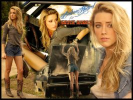 Amber Heard Drive Angry by KittieVampire