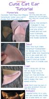 Cat Ear Tutorial by ObsessedXShipper