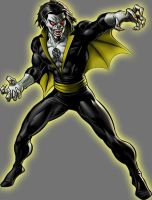 Yellow Lantern Morbius by Lord-Lycan