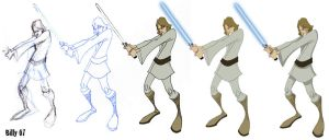 "Skywalker ""Step-by-Step"" by Bloodzilla-Billy"
