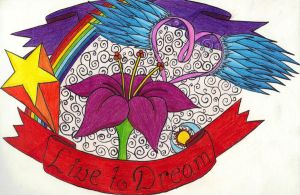 Live to Dream Colored by yoliee