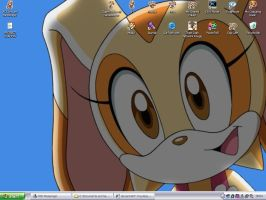 Cream the Rabbit:. Summer time by kagome-h