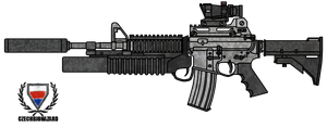Colt M4A1 Customized by CzechBiohazard