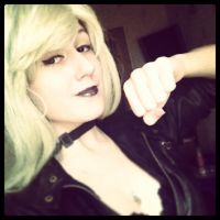 Black Canary test by slowpenguin