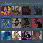 art summary 2014 by SulphurSpoon