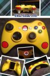 Pikachu Xbox 360 Controller by CARDI-ology
