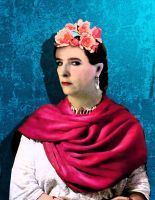Loraine ala Frida Kahlo by QuicheLoraine