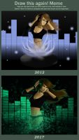 [Draw this again] Musical Spirit by RealTRgamer