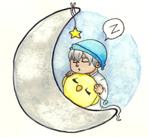 Sleep Tight Little Prussia by CamaelTheAngel