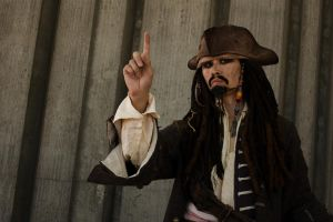 that's Captain Jack Sparrow by nwcosplay