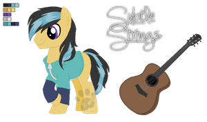 Adoptable Pony: Subtle Strings (CLOSED) by MissTulcadhiel
