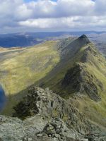 Striding Edge by RichardMacDonald