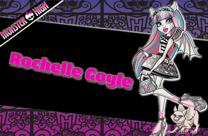Monster High Rochelle Goyle Version 2 Wallpape by Wizplace