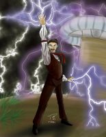 Epic Collabs of History - Nikola Tesla by toasterpip