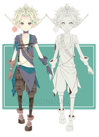 1.[Auction] Adoptable Elf Boy - [CLOSED] by J4ckandJ4ck
