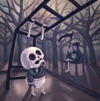 Grim Reaper - Baby version by gentsai