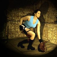 Original Lara Cosplay by pbbunnybear