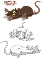 Trapped Rat by animator