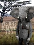 We Are Humans! by Luis-Montiel