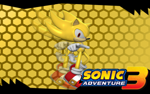 Sonic Adventure 3, Super Sonic by Nibroc-Rock