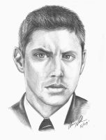 Dean Winchester - Pencil 2nd by zerotozune