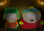 Cavern of Darkness - South Park - Kyle and Cartman by Saveraedae