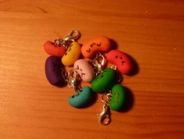 Jelly Bean Charms by Iluvrocks