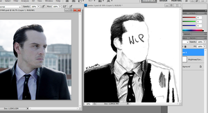 Jim Moriarty by freemansass